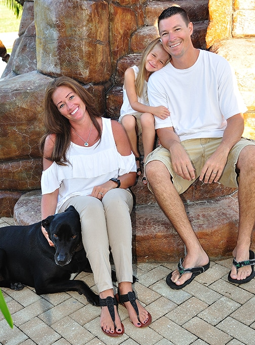 Chiropractor Cape Coral FL Dr. Daniel Bartz and Family